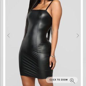 Black mini dress | Medium | New